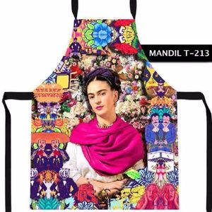 Mexican Apron Frida Kahlo Vintage Cool Folk Art
